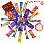 Diwali Choco Blast - 5 Dairy Milk, 5 Five Star, 5 Kit Kat, 5 Perk with Laxmi-Ganesha Coin