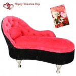 Cute Couch Storing Box & Valentine Greeting Card