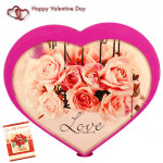 Musical Rotating Heart & Valentine Greeting Card