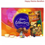 Kids Celebration - Cadbury Celebrations with 1 Kids Rakhi and Roli-Chawal