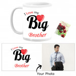 I Love My Big Brother Personalized Mug & Card