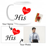His Personalized Mug & Card