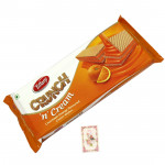 Crunch N Cream Wafer Biscuit - Orange Flavor