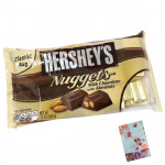 Hershey's Nuggets - Milk Chocolate with Almond