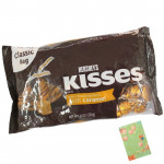 Hershey's Kisses - Milk Chocolates filled with caramel