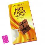 Auston No Sugar Added Milk Chocolate