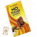 Auston No Sugar Added Hazelnut Milk Chocolate