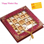 Chocolaty Assortment - Assorted Chocolates 25 pieces and Mother's Day Greeting Card