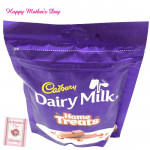 Treat for Mother - Dairy Milk Home Treats and Mother's Day Greeting Card