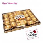 Golden Love - Ferrero Rocher 24 Pcs and card