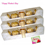 Triple Gifts - 3 Ferrero Rocher 4 Pcs each and card