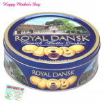 Cookie Box - Danish Butter Cookies & Card