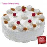 Pineapple Cake - Pineapple Cake 2 kg and Mother's Day Greeting Card