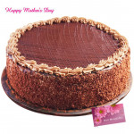 Chocolate Truffle - Chocolate Truffle 1.5 Kg and Mother's Day Greeting Card