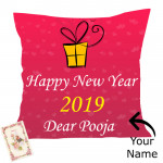 Happy New Year - New Year Cushion & Card