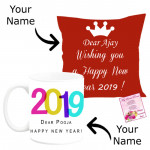 Year of Success - New Year Cushion, New Year Mug & Card