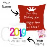 Year of Success - New Year Cushion, New Year Mug & Card