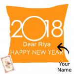 Happy New Year - New Year Cushion & Card