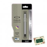Parker Vector Stainless Steel CT Fountain Pen