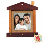 Photo Frame with Key Stand & Card