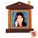 Photo Frame with Key Stand (Valentine Special)