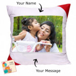 Cushion with Photo & Card