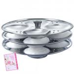 Prestige Idli Plates 3 x Dia 195 mm- 5 Ltr