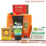 For Men - Garnier Mens Expert with 2 Rakhi and Roli-Chawal
