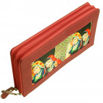 Red Clutch (10 inch by 6 inch)