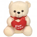 For Ever Heart Teddy (8 Inch)