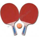 Table Tennis Pair with ball