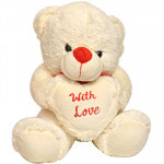 Cute Teddy with Love (10 Inch)