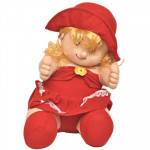 Doll in Red Dress (12 Inch)