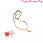 Sandalwood Mala and Card