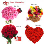 4 Days Roses Gifts