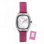 Sonata Watch Pink Strap