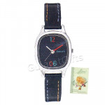 Sonata Watch Black Dial and Card
