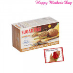 Sugarless Bliss Cookies Natural Ginger Cinnamon and Card