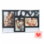 Three Photo Love Photo Frame