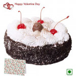 Special Love - Black Forest (Eggless) 1 Kg + Card