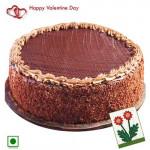 Fond of You - Magic of Chocolate (Eggless) 1 Kg + Card