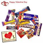 Cadbury Assortment - Cadbury Hamper 25 pcs + Valentine Greeting Card