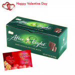 Nestle Mint Treat - Nestle After Eight Mint Chocolates 200 gms + Valentine Greeting Card