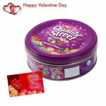 Nestle Quality Street - Nestle Quality Street Chocolates 240 gms + Valentine Greeting Card