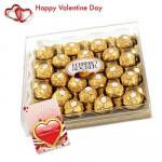 Ferrero Rocher - Ferrero Rocher 24 pcs + Valentine Greeting Card