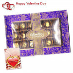 Cadbury Celebration - Cadbury Celebration Rich Dry Fruit 162 gms + Valentine Greeting Card
