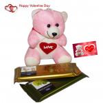 Temptation Teddy - Teddy 6 inch, 2 Temptations & Card