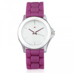 Fastrack Beach Analogue Watch with Purple Strap