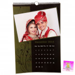"Personalized Wall Calendar (12"" X 18"") & Card"