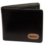 Black Wallet with stitching (4 inch by 5 inch)